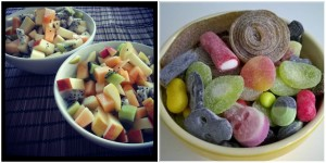 karkit vs hedelmät